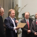 Vasiliy is given certificate of deacon oridination